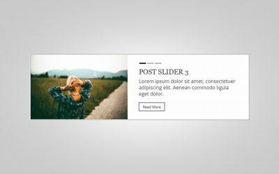Personalizzare il post slider del tema Divi