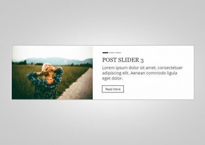 Personalizzare il post slider del tema Divi