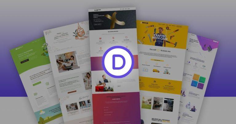 Exemples de sites Web réalisés avec Divi
