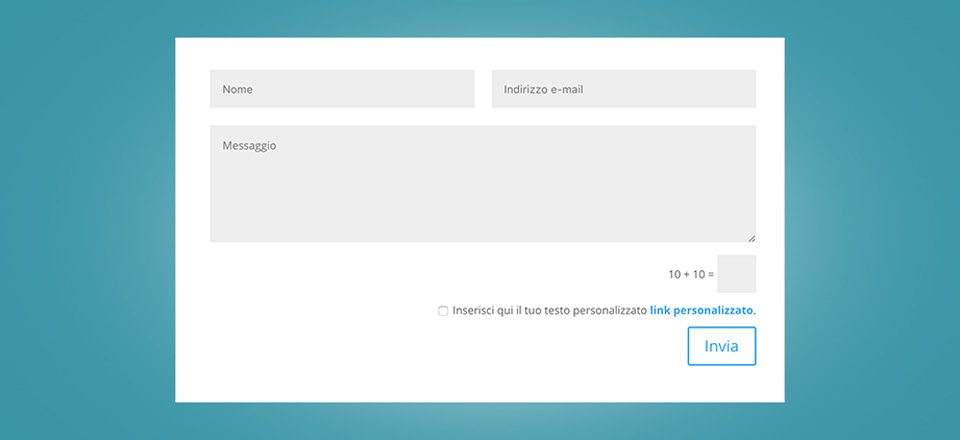 Come aggiungere il checkbox del trattamento dati nel form di contatto Divi