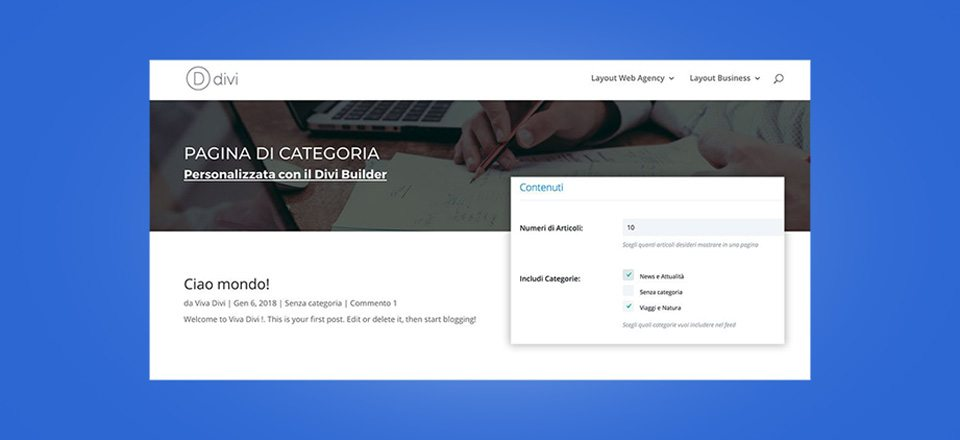 come-personalizzare-pagine-categoria-divi