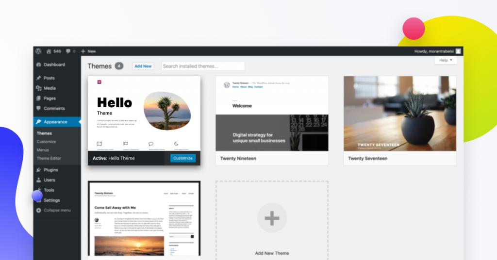 Hello Theme tema WordPress gratis, veloce e leggero per Elementor