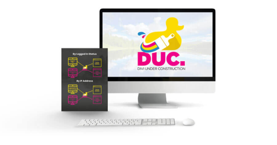 Divi Under Construction DUC pagina Coming Soon