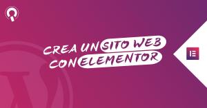 Corso Elementor Italiano Elementor Basic Imparaqui Creare un sito internet con WordPress 2020