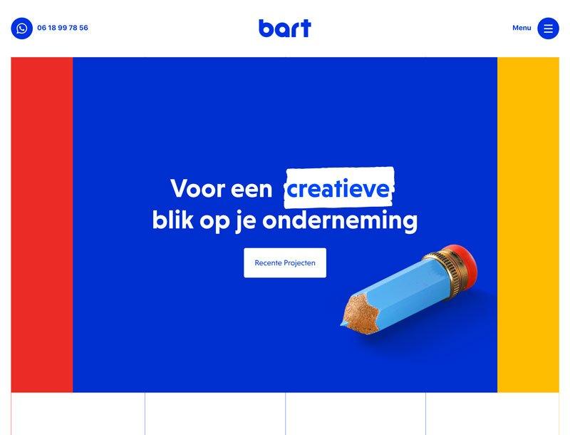 Siti fatti con Elementor - Bart