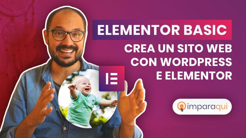 Corso Elementor Basic
