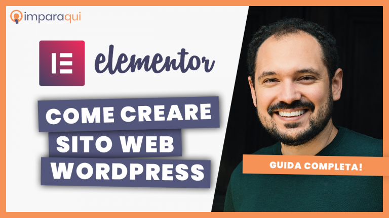 Come creare un sito con WordPress e Elementor PRO tutorial italiano
