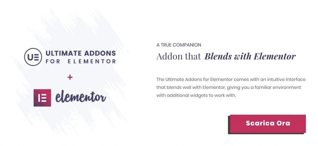Migliori Plugin WordPress - Elementor Ultimate Addons