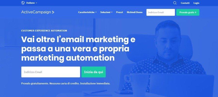 Migliori alternative a Mailchimp