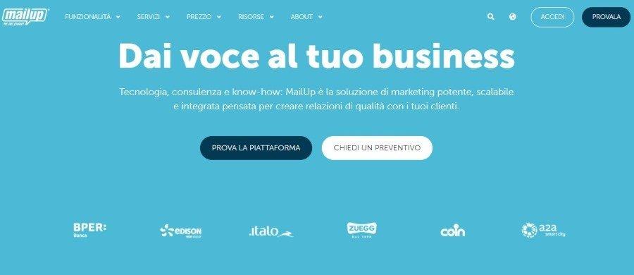 Migliori alternative a Mailchimp in italiano
