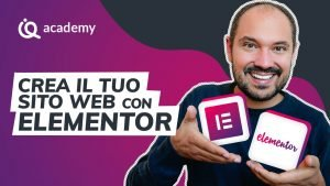 Corso online Elementor italiano imparaqui Elementor Basic WordPress
