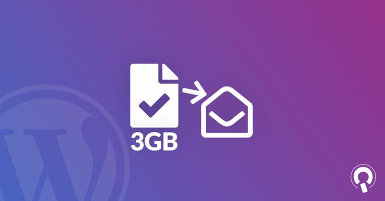 inviare file grandi e video per email gratis