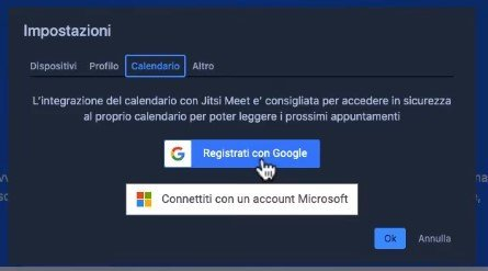 Jitsi Meet tutorial italiano
