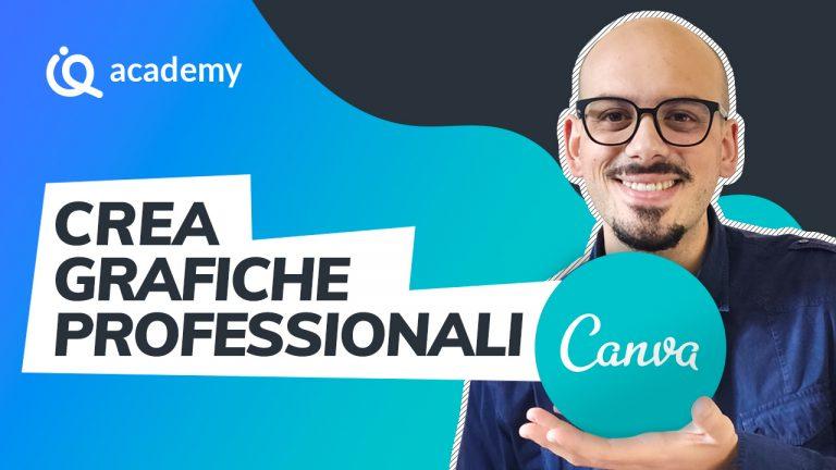 Corso Canva italiano creare grafiche professionali Francesco Mazzocca - imparaqui