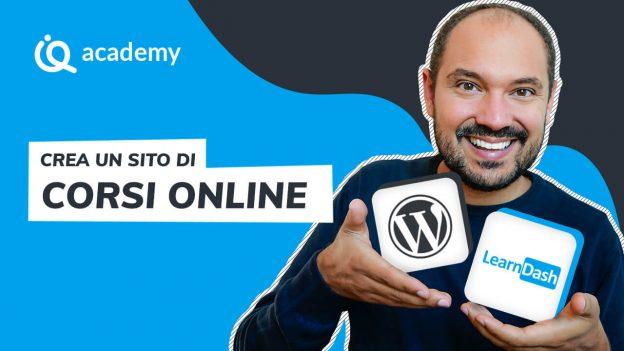 LearnDash 360 italiano corso online creare sito piattaforma vendere corsi online WordPress Pascal Claro imparaqui