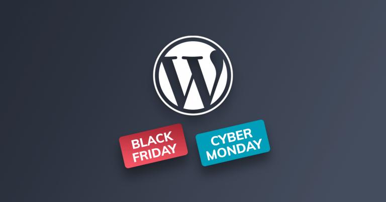 Migliori Offerte WordPress Black Friday Cyber Monday 2020