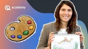 Corso online disegno Colore e creativita Carolina Ricciulli - imparaqui