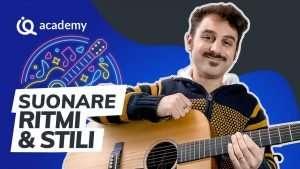 Suonare ritmi e stili corso chitarra ritmica Alessio Puccinelli imparaqui