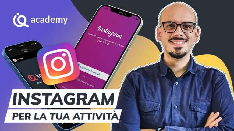 Corso base Instagram italiano - Instagram Basic Francesco Mazzocca imparaqui - Testo