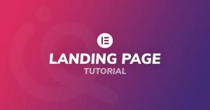 Tutorial landing page Elementor italiano 2021 Elementor PRO Mailchimp