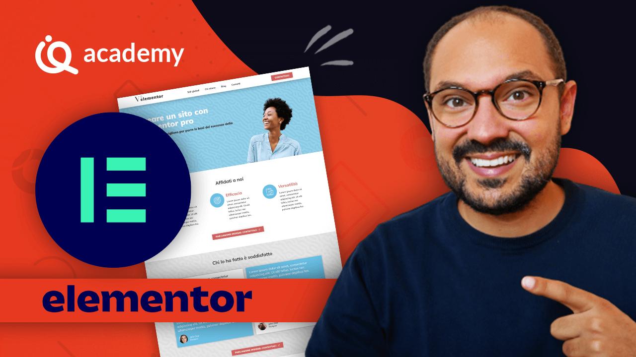 Il Quinto Elementor corso online elementor italiano imparaqui WordPress