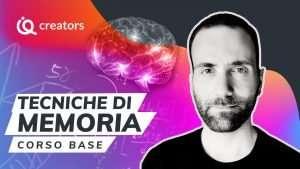 Corso online tecniche di memoria Dario Monetini imparaqui